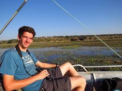 safari on Chobe river