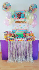 Fullbloomcakes - Rheasa's Moana birthday theme