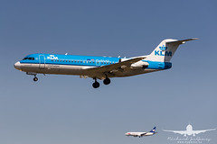 KLM Fokker 70 PH-KZI_AH3V0971