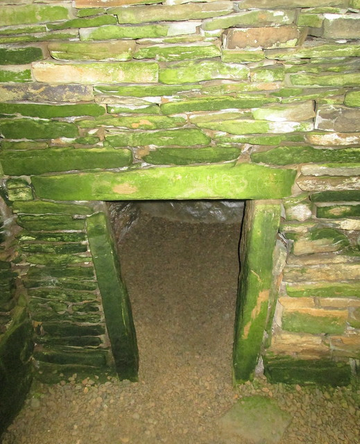 Chamber in Unstan Chambered Burial Cairn, Orkney