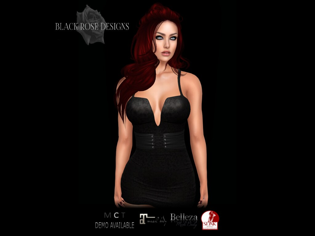 [[BR]] MONA DRESS @ THE DARKNESS MONTHLY EVENT - SecondLifeHub.com