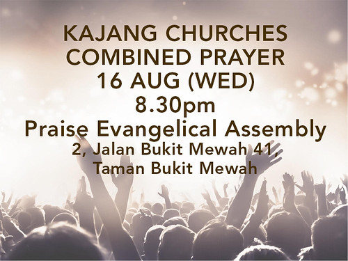 kajang combined churches