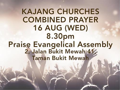 kajang combined churches