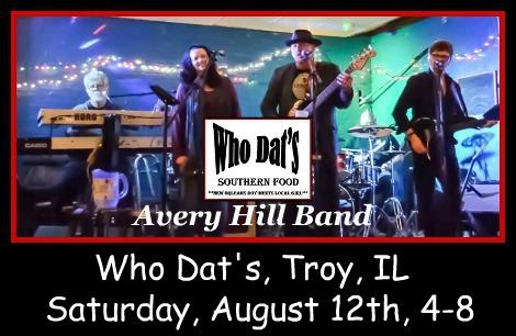Avery Hill Band 8-12-17