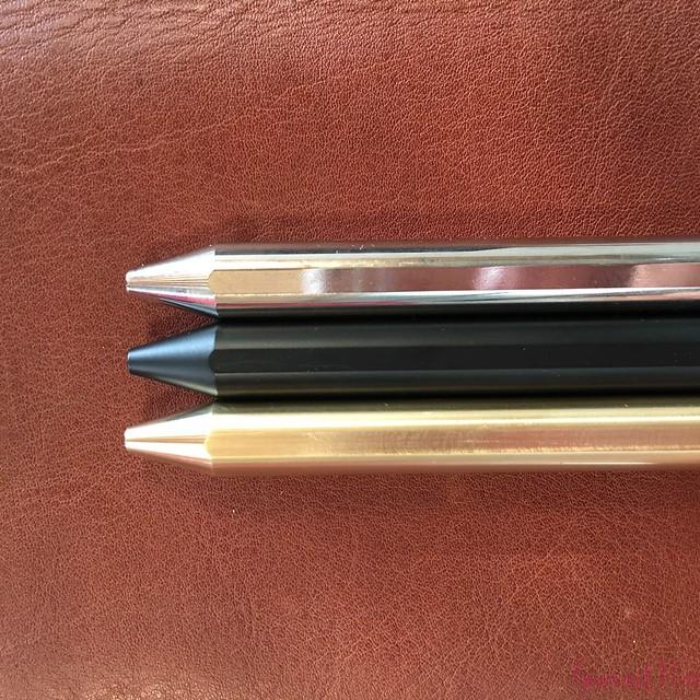 Review @InventeryCo Mechanical Pens - Brass, Chrome, Onyx 18