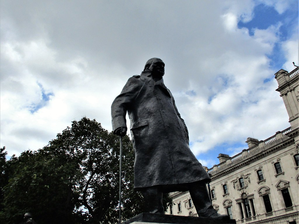 Churchill Statue, Westminster