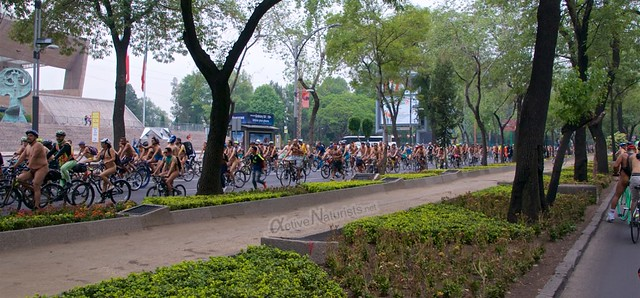 naturist 0035 WNBR World Naked Bike Ride, Mexico