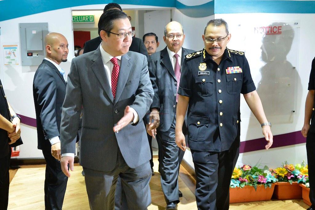 040817 - Majlis Ikrar Bebas Rasuah Dan Tambahan 10 Langkah Integriti Kerajaan Negeri Pulau Pinang (4 August 2017)