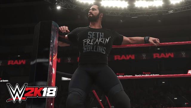 WWE 2K17 - Seth Rollins Shirt