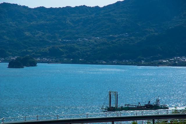 レモンの島から見える瀬戸内海