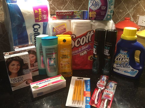 Drugstore Shopping August 27