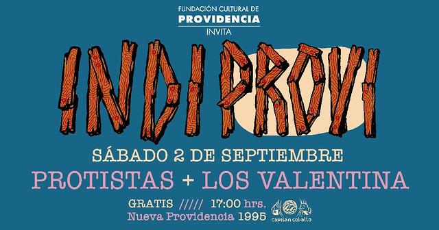 Protistas y Los Valentina en Cuarta fecha INDIPROVI