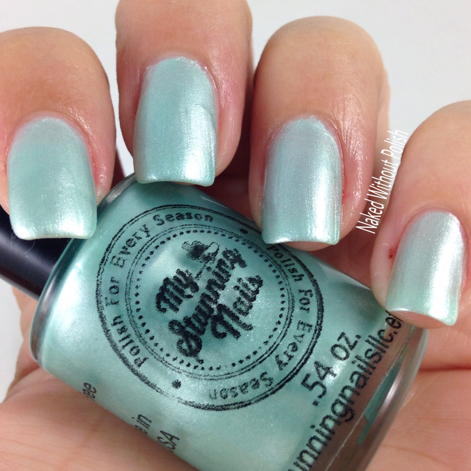 My-Stunning-Nails-Mint-Macaroon-5