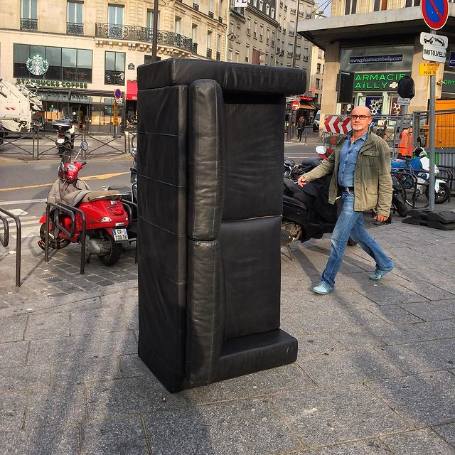 #streetphotography #paris #saintlazare #rouenparisrouen #tw