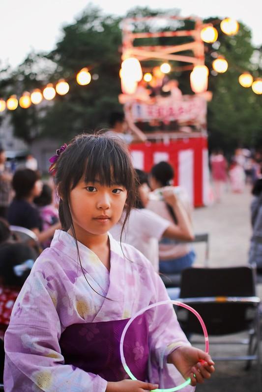 SAKURAKO - The Bon festival dance.