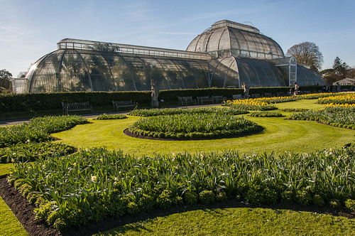 The Palm House and Parterre - Kew Gardens
