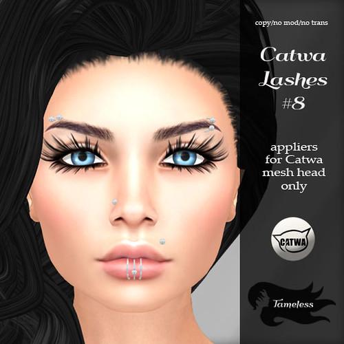 Tameless Catwa Lashes #8