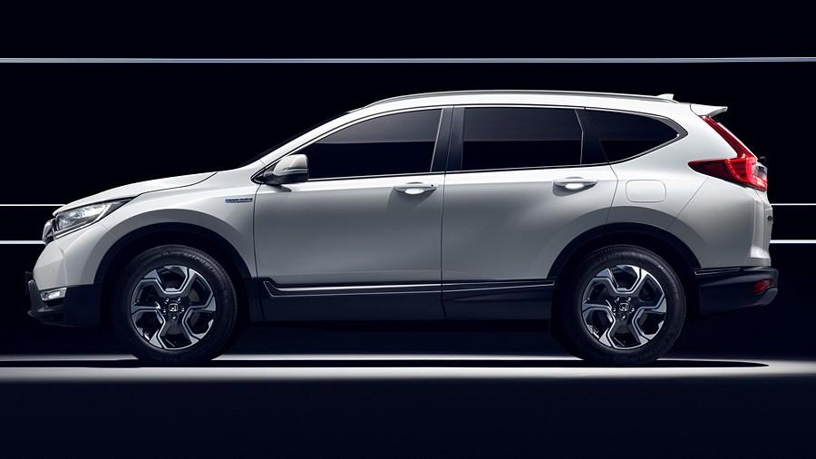 Honda CRV Hybrid Prototype 34#