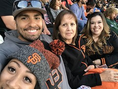 Baseball Game - Giants vs. A's AT&T Park - 08-03-2017