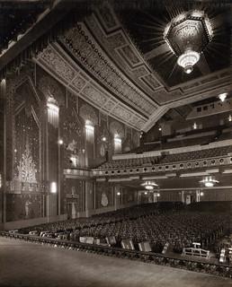 The auditorium at the Paramount Theatre, Newcastle