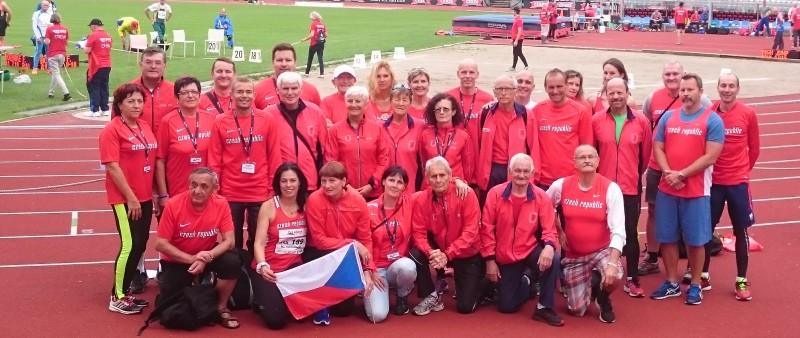 Čeští veteráni získali na mistrovství Evropy v atletice 41 medailí