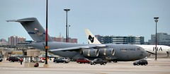 USAF Boeing C-17A Globemaster III military transport - Toronto Pearson