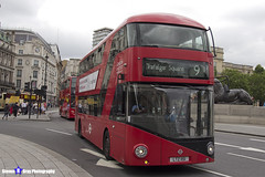 Wrightbus NRM NBFL - LTZ 1151 - LT151 - Trafalgar Square 9 - London United RATP Group - London 2017 - Steven Gray - IMG_0714