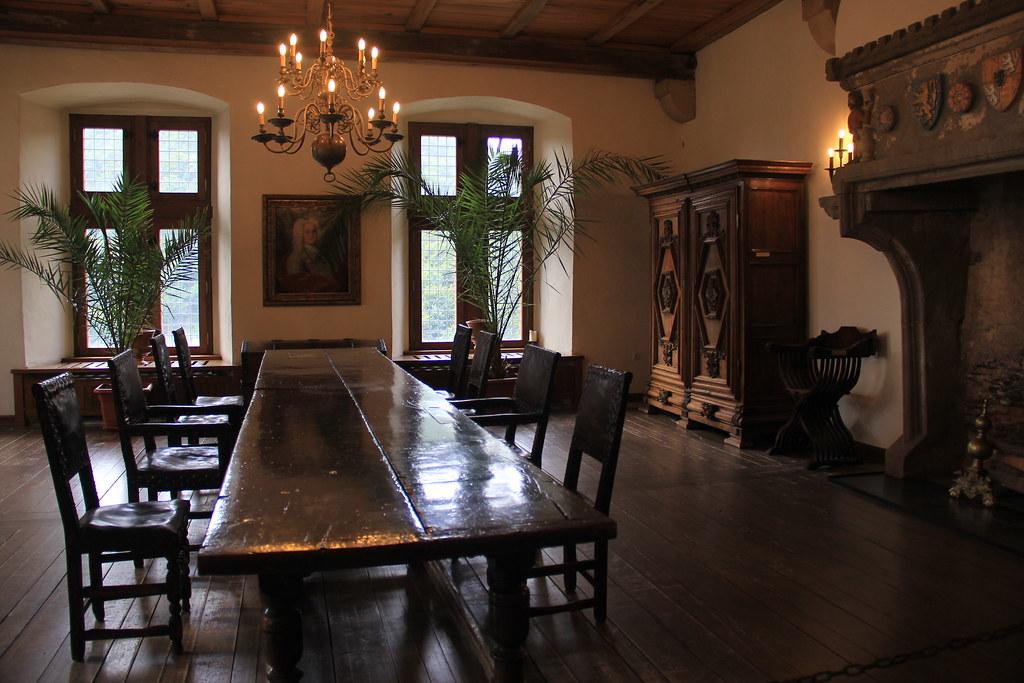 Inside Vianden Castle