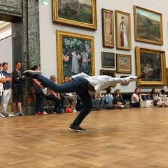 There's dancing in Tate Britain this week. It's pretty cool to watch talented people moving unusually in a gallery space. Caught a performance this afternoon, it was great.