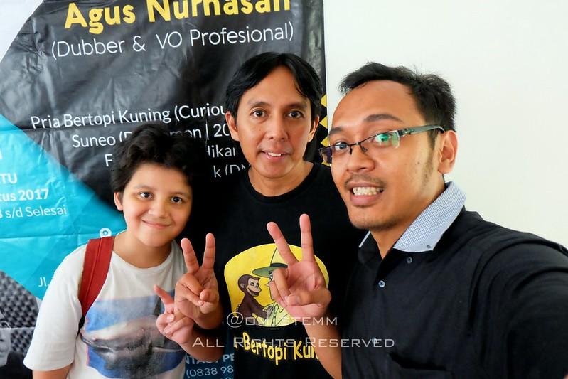 Belajar Dubbing bersama kak Agus Nurhasan