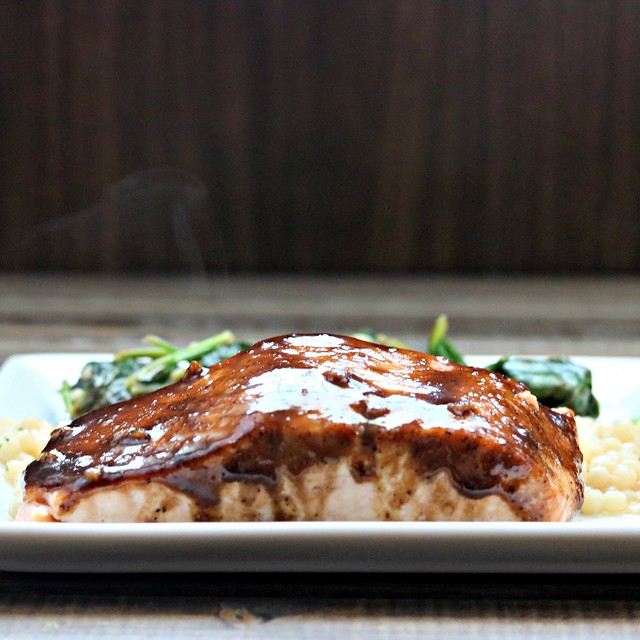 Balsamic Honey Dijon Salmon sq