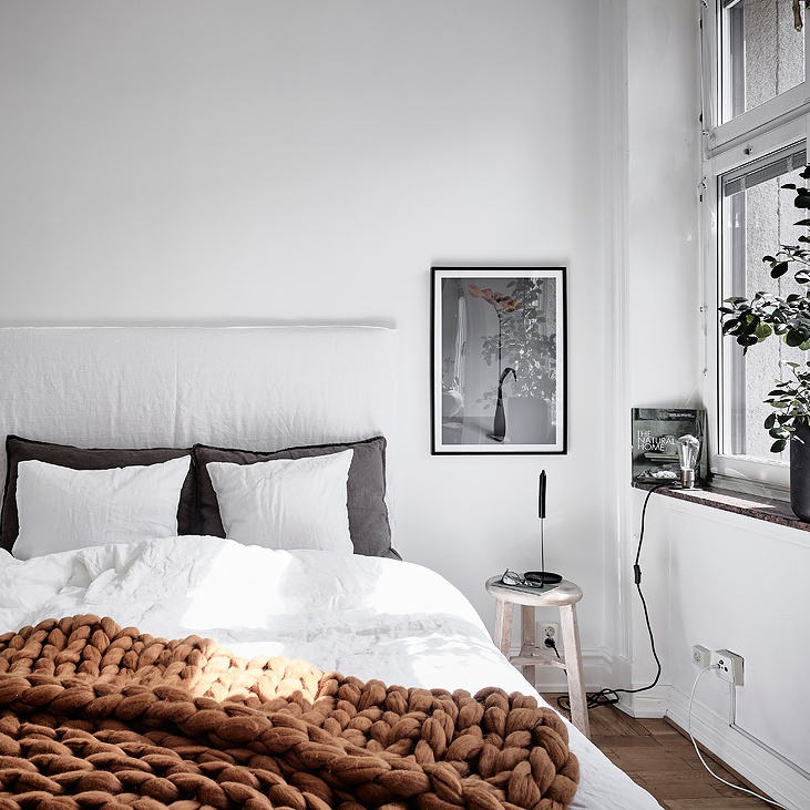 My Dream Black and White Scandinavian Home