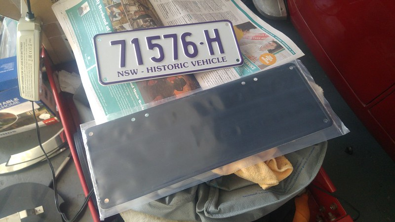 Mounting NSW Historic plates