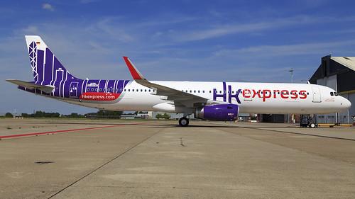 D-AVXD A321-231SL HK Express