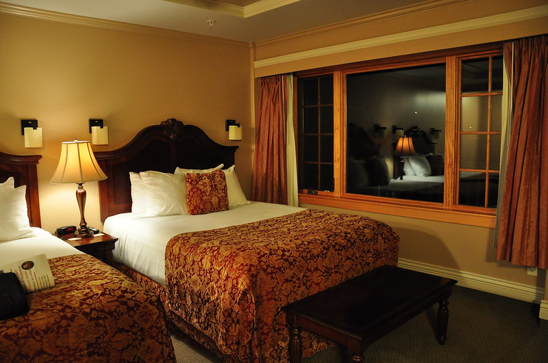 Our room in Kaslo