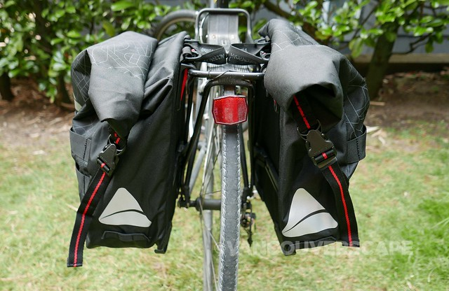 Axiom Monsoon Hydracore 45+ pannier set