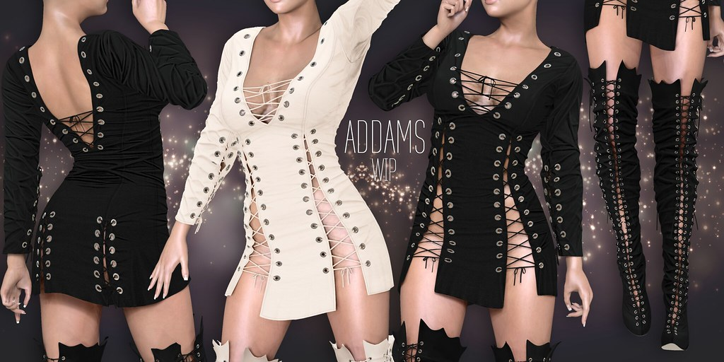ADDAMS - NEW Work in Progress - SecondLifeHub.com