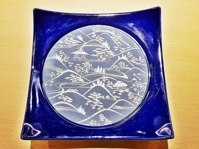 Decorative Japanese Print Plate