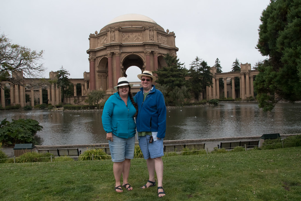 Ken and I at Palace of Fine Arts in San Francisco