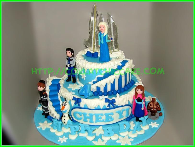 cake disney frozen Chee Yi
