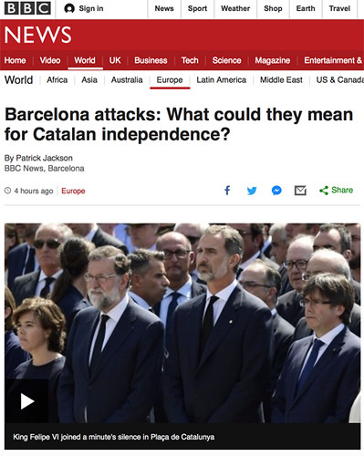 17h20 Barcelona attacks- What could they mean for Catalan independence?