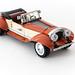 Vintage Roadster by Galaktek