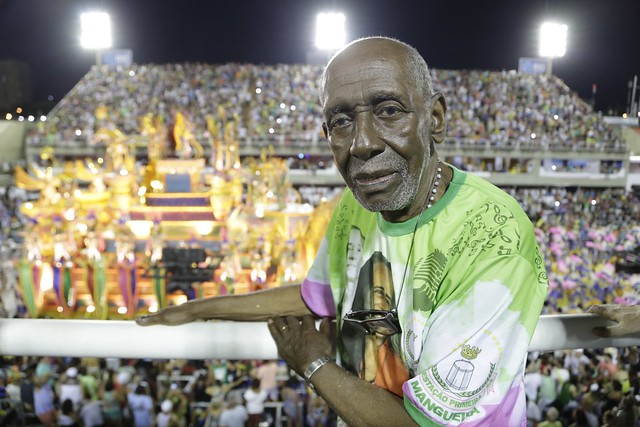 Nelson Sargento é presidente de honra da Mangueira - Créditos: Divulgação