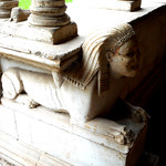 Sphinx (1215-1232) - Cloister by Vassalletto - San Giovanni in Laterano Church in Rome - https://www.flickr.com/people/70125105@N06/