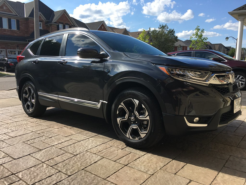 My 2017 CR-V Canadian Touring Gunmetal Metallic