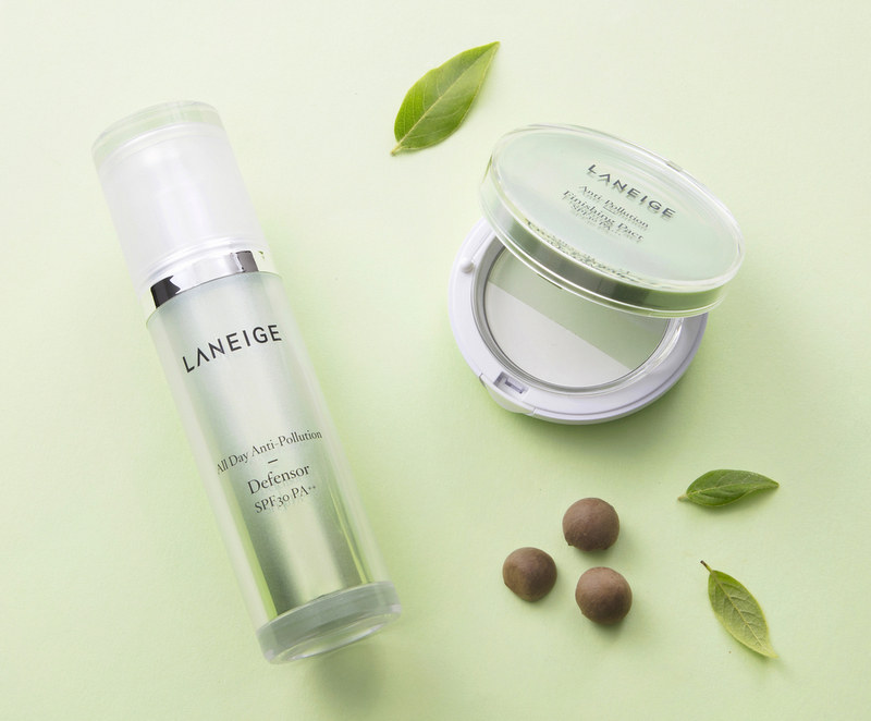 Laneige's Anti-Pollution
