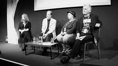 Edinburgh International Book Festival 2017 - Farah Mendlesohn Adam Roberts Jo Walton & Ken MacLeod 01