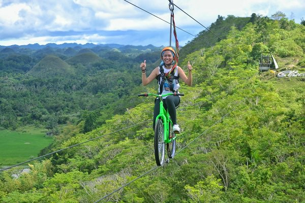 Zip Bike in Bohol
