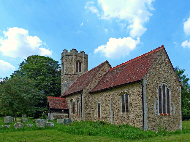 All Saints', Little Bradley, Panasonic DMC-FZ48