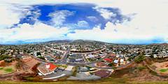 Pu'u 'o Ka'imuki - an aerial 360° Equirectangular VR View of Honolulu and my hometown, Ka'imuki shot at 173 feet from my DJI Spark mini-drone